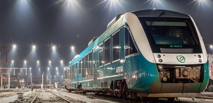 Arriva tog ved Esbjerg Banegård