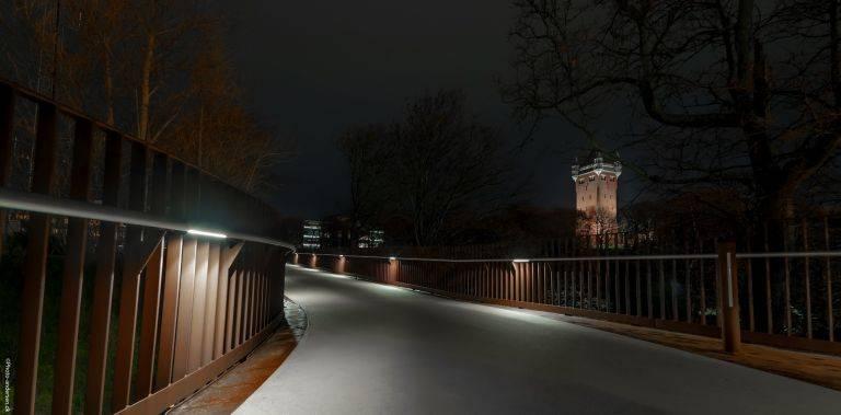 Lowlight billede af Esbjerg Vandtårn
