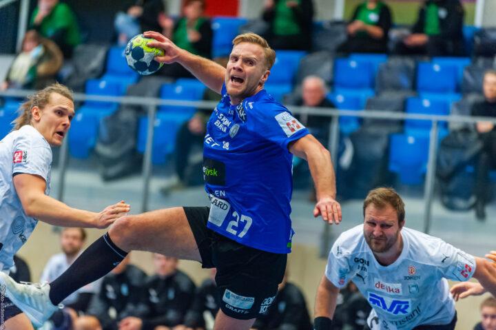 Gunnar Stein Jonsson mod Skanderborg håndbold i blue water dokken i hans sidste kamp